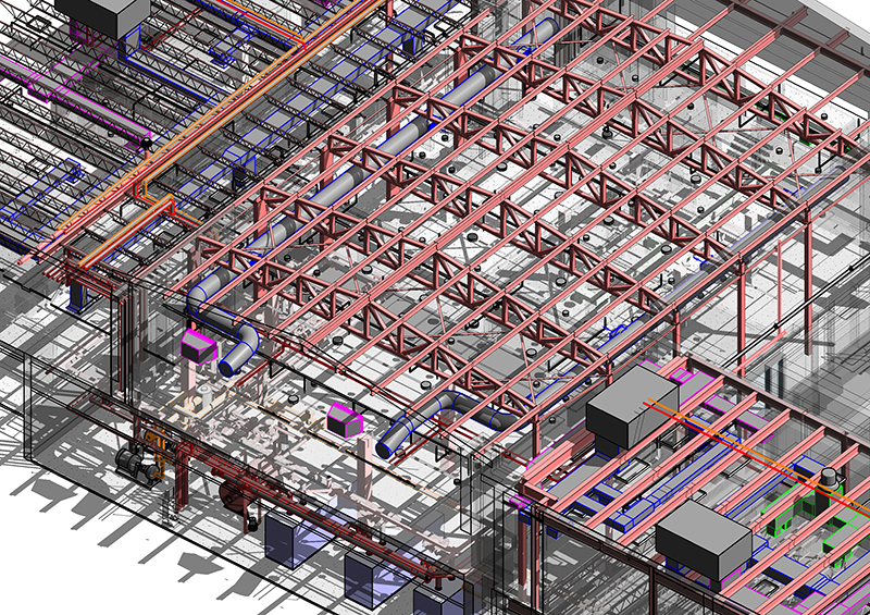 Bim Modeling Projects Revit Families Coordination