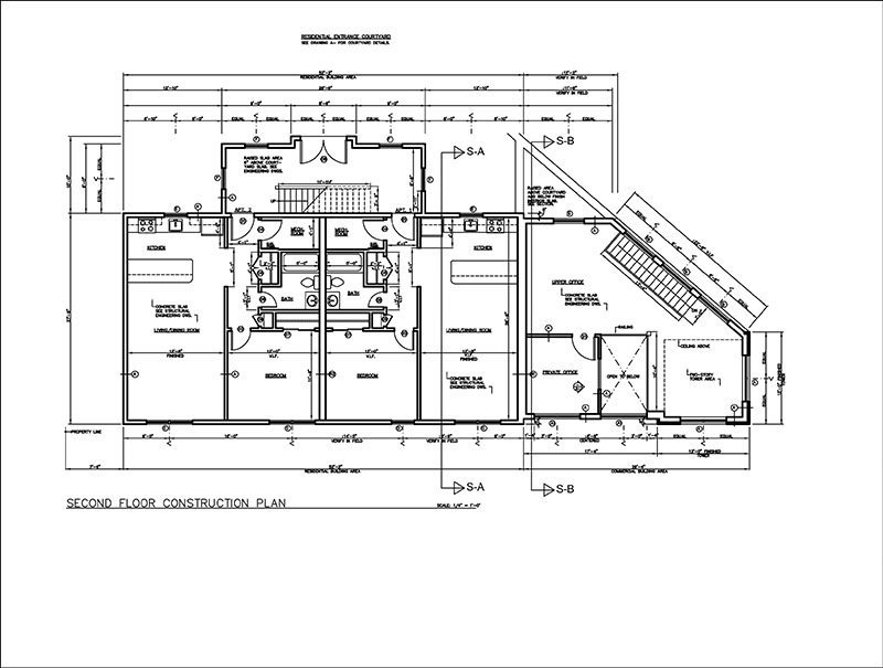construction drawings samples  2d drafting  cad services