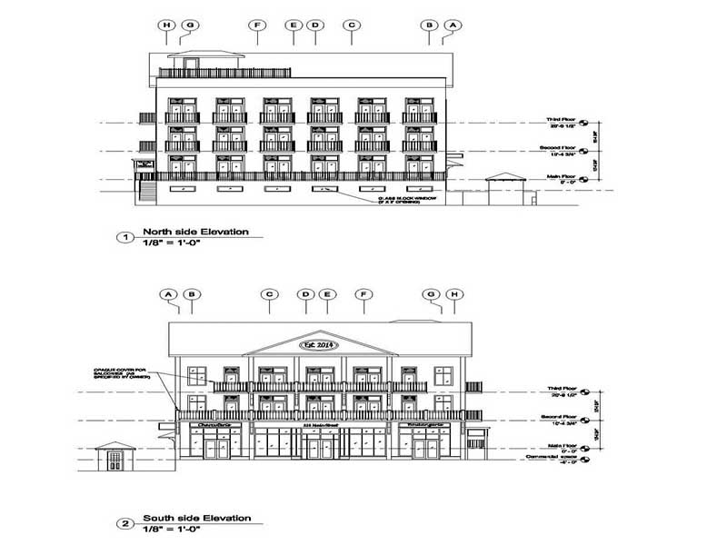 Construction Drawings Samples: 2D Drafting, CAD Services Samples