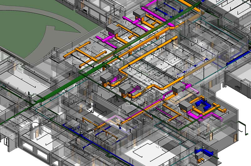 Mep Services Projects Mep Coordinated Shop Drawings