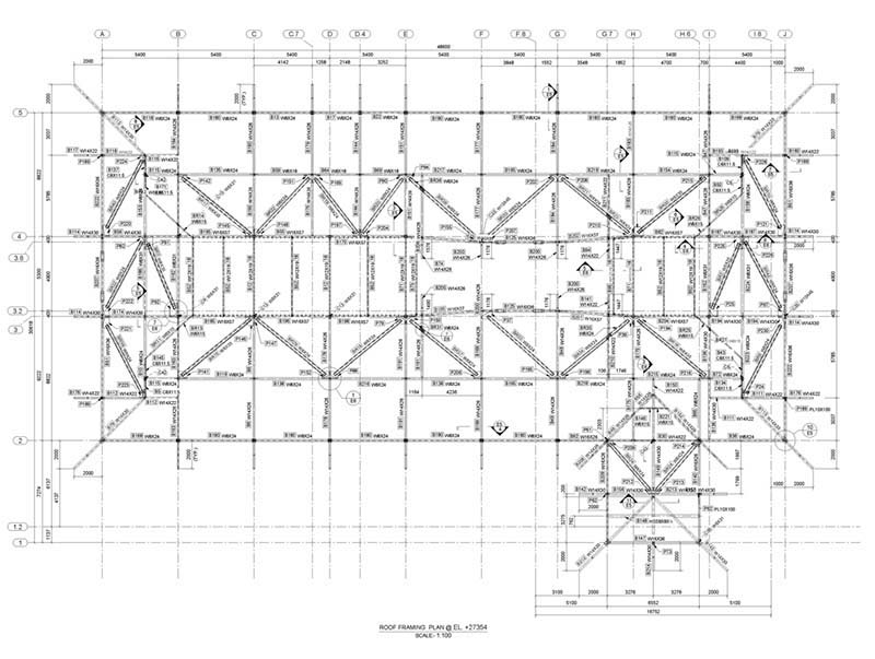 Structural Steel Detailing Projects: Structural Design Services ...