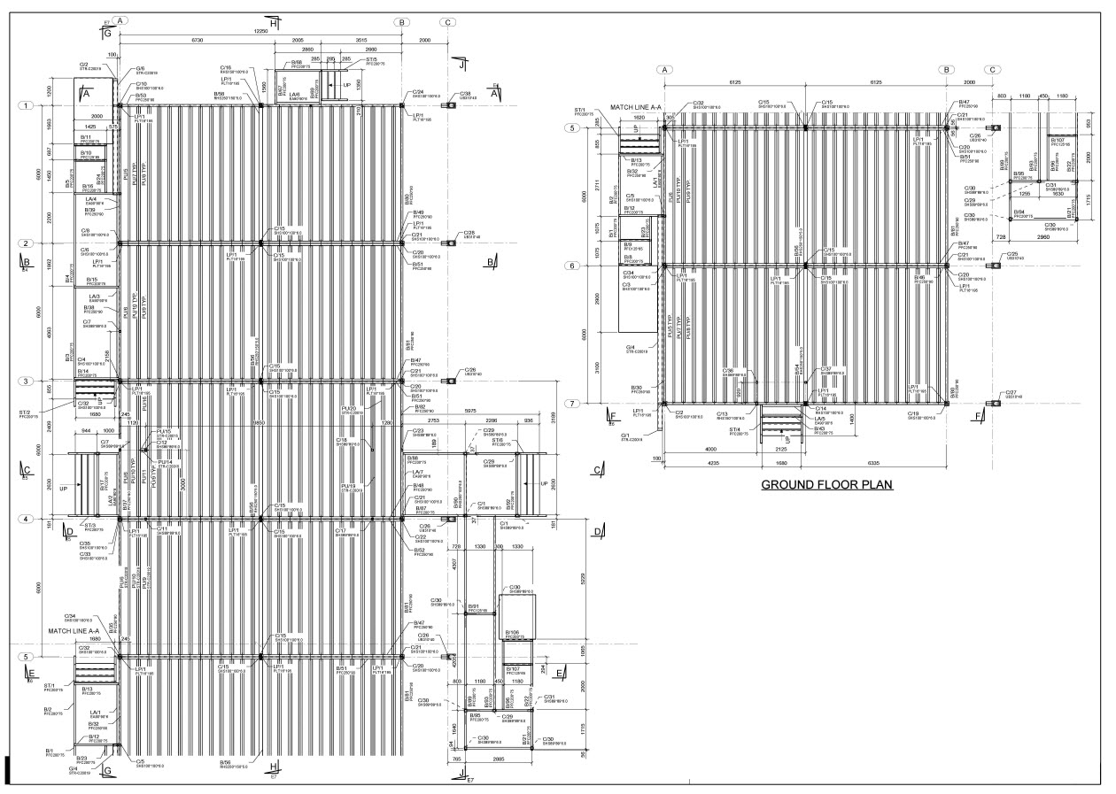 Structural Steel Detailing Projects Structural Design